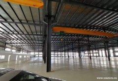 (出租) 高新区独门独院钢结构11500平厂房招租(带行车)